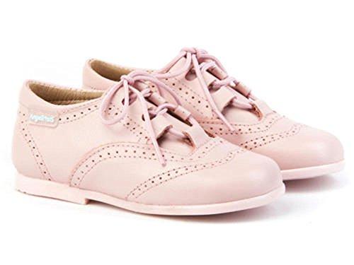 ANGELITOS Zapatos inglesitos de Piel para Niña y Niño (Unisex). Marca Modelo 505. Calzado Infantil Hecho EN España