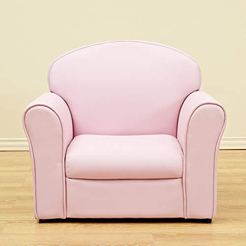 HAKN Sofa pour enfants, mignon bébé Cartoon Mini canapé siège cadeau d'anniversaire (Couleur : Pink)