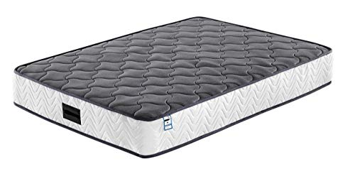 Buyer Empire Gel Memory Foam Mattress Soft Fabric Skin-friendly Indulgent Comfort Sleep Cooler Breathable Pocket Spring Mattress with Extra Pressure Relief Orthopaedic 7-Zone Mattresses (Double)