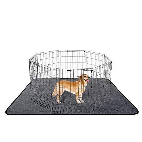 ANWA Washable Dog Pee Pads, Waterproof Dog Training Pads, Dog Playpen Pad Extra Large