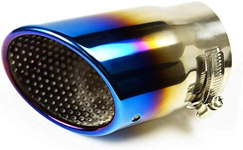 マフラーカッター アクセラ ワゴン セダン スポーツ BM BY BL系 チタンカラー 外装 ドレスアップ ステンレス製 アクセサリー 1本