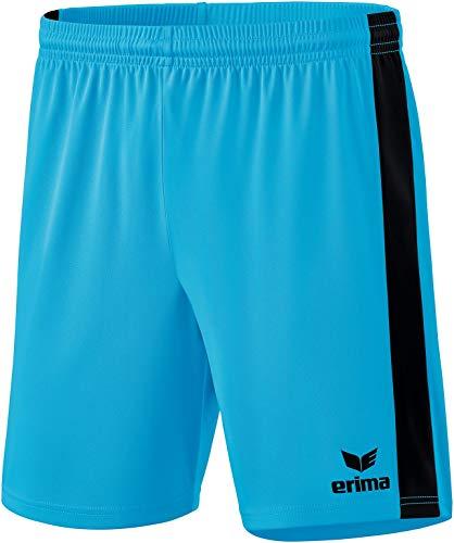 erima Pantalones Cortos Unisex Retro Star, Unisex Adulto, Pantalones Cortos, 3152110, Azul, Negro, Medium