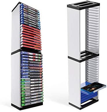Game Card Box Storage Stand for PS5 Nintendo Switch Xbox Games Storage Tower for Nintendo Switch product image
