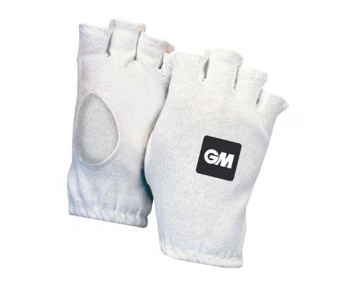 GM Gunn & Moore Fingerlose Cricket-Innenhandschuhe aus Baumwolle, Für Jugendliche