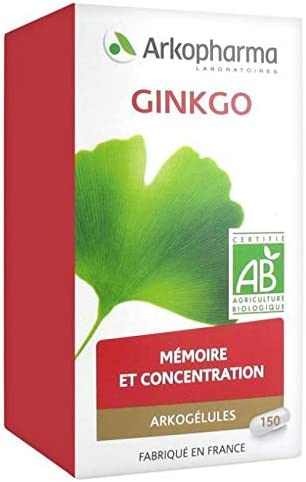 Arkopharma Arkocaps Organic 150 Capsules Today's Outlet SALE only Ginkgo