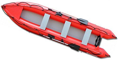 14' Inflatable KaBoat Crossover. Kayak+Boat=KaBoat