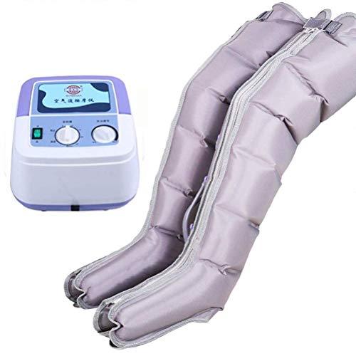 Massaggiatore Gambe Compressione D\' Aria Massaggio Pressoterapia per Il Ripristino della Circolazione Venosa delle Gambe per Casa Ufficio E Viaggio,Package3