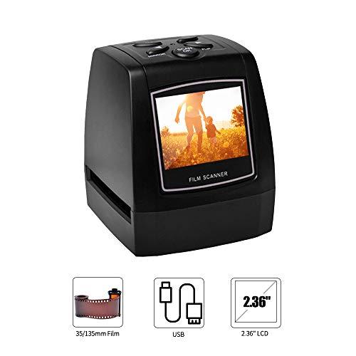 Great Features Of Lepeuxi EC718 Mini Digital 35mm 135mm Negative Slide Film Scanner Converter Photo ...