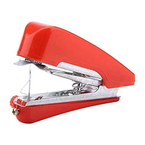 Fdit Máquina de coser portátil mini eléctrica portátil inalámbrico herramienta rápida y práctica para ropa, viajes, niños