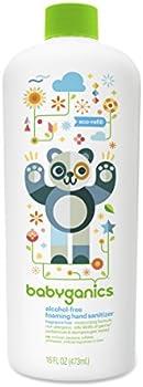 Babyganics Alcohol-Free Foaming Hand Sanitizer Bottle