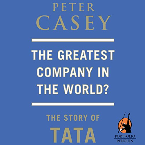 The Greatest Company in the World? cover art
