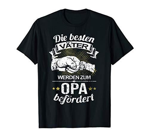 Die Besten Väter Werden Zum Opa Befördert I Geburt I Baby T-Shirt