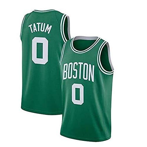 HJSW Maglia da Basket NBA Uomo, Vintage Swingman Jersey, 0 Jason Tatum Boston Celtics, Maglie Canotta NBA Tuta da Basket Pallacanestro Uniforme, XS-XXL (Size : S)