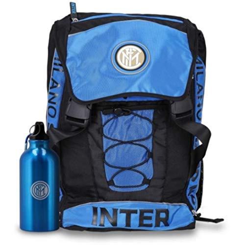 Zaino estensibile 60411 Inter blu e nero con borraccia omaggio collezione 2019/2020