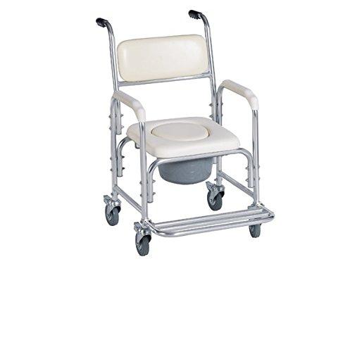 HEALTHLINE Bedside Commode Healthline Backrest