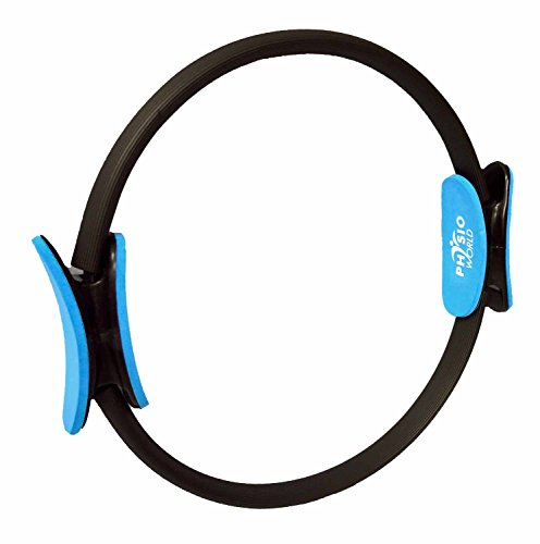 PhysioWorld PWRING Pilate Double Handle Resistance Yoga Ring - 15Inch