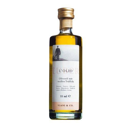 Viani Olio di Oliva al Tartufo bianco / Olivenöl von weißen Trüffeln 55 ml.