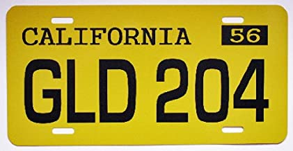 American Graffiti 1955 55 Chevy Metal License Plate GLD 204 FALFA TAG 6 X 12 HOT Rod Muscle CAR Classic Museum Collection Novelty Gift Sign Garage Man CAVE