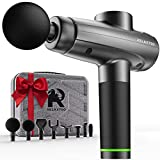 {New 2021} Percussion Muscle Massage Gun 100 W 2500 mAh Handheld Massage Gun Deep Tissue Power Massager for Athletes Training and Muscle Recovery Percussive Impact Massager Gun for Body Neck Back