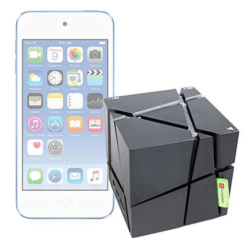 DURAGADGET Altavoz inalámbrico Portátil Compatible con Apple iPod Touch 2019 - Luces...