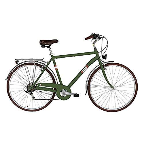 "Alpina Bike Roxy, Bicicletta Trekking 6v Uomo, Verde Canna, 28"" 500 mm"