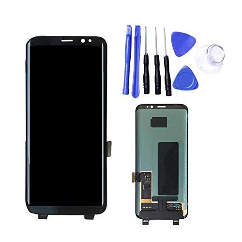 Haodene Pantalla LCD para Samsung Galaxy S8 Pantalla LCD Pantalla táctil Digital