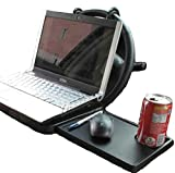 Foldable Car Laptop Stand Foldable Car Seat/Steering Wheel Laptop/Notebook Tray Table Food/Drink Holder Stand