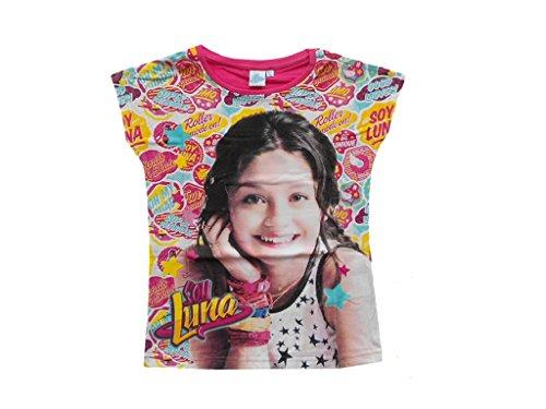 SOY LUNA T-Shirt (122, Fuchsia/bunt)