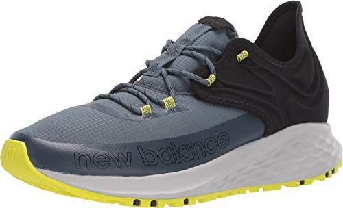 New Balance Men's Fresh Foam Roav Trail V1 Running Shoe, Orion Blue/Black, 11 D US