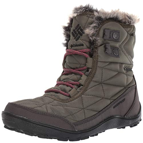 Columbia Women's Minx Shorty III Snow Boot, nori, Daredevil, 5.5 Regular US