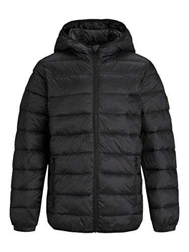JACK & JONES Herren Wattierte Jacke Jungs Colourblocking 128Black