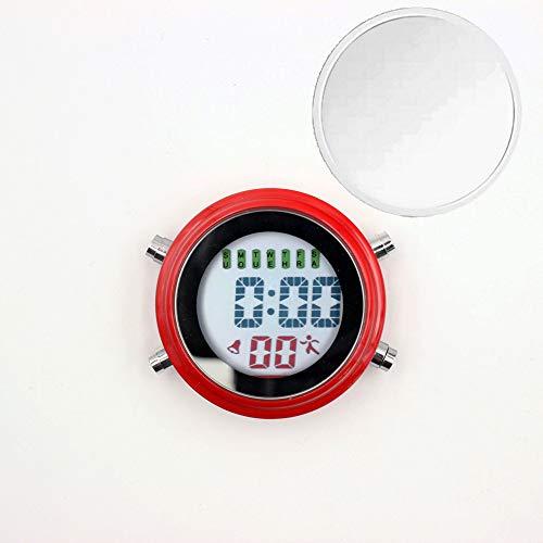 GYZBYMini Elektronische Uhr Wanduhr Kleiner Wecker Wanduhr Multifunktions-Timer Leuchtender Wecker