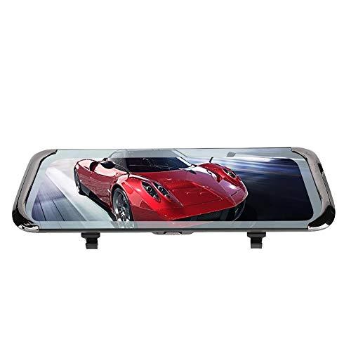 Dash Cam Rear 10in 4G WiFi Car Dash Cam DVR Navegación GPS Espejo retrovisor Cámara Grabadora de conducción