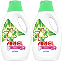 Ariel Automatic Power Gel Laundry Detergent Touch of Freshness Downy 2 L, Pack of 2
