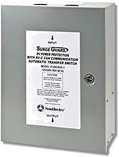 Technology Research Corp 41390-RVC Surge Guard RVC 90A Hardwire Automatic Transfer Switch