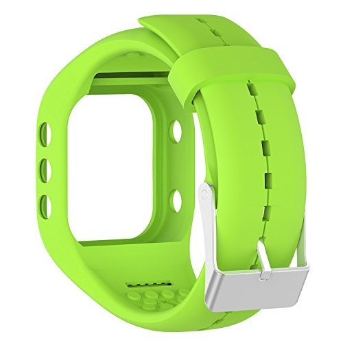 QGHXO Band for Polar A300, Soft Adjustable Silicone Replacement Wrist Watch Band for Polar A300 Watch