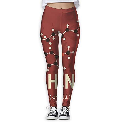 KLING Santé Fitness Power Flex Molecule Pantalon de Yoga Leggings,M