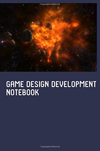 Game Design Development Getting Started Half Graph Half College Paper Notebook: Blank Half Lined Half Quad Ruled Squared Graphing Grid Journal