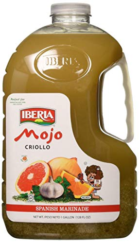 Iberia Mojo Criollo, 1 gallon Spanish Marinade Perfect for Marinating Chicken, Beef & Pork, Made With Real Orange Juice, 128 Fl Oz
