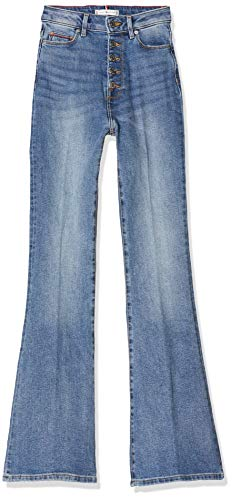 Tommy Hilfiger Mujer Bootcut Hw Rocco Bootcut Jeans, Azul (Rocco 1ab), W24 / L34