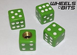 Wheels N Bits NISSAN ALL MODELS SILVER GRENADE VALVE CAPS DUST DUSTIES CAP SET OF 4