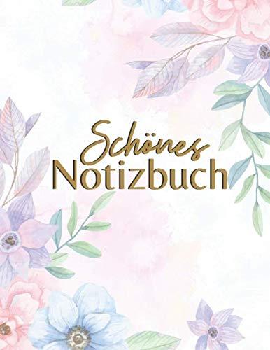 Schönes Notizbuch: Elegant & Biegsam - Designpapier, Bastelpapier, Dekorpapier (Notizbuch Tagebuch, Band 1)