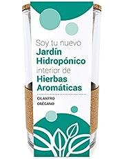 Garden Pocket Cultivo HIDROPÓNICO - Cilantro y Orégano