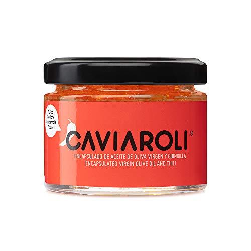 Caviaroli - Encapsulado de Aceite de Oliva Virgen Extra con Guindilla - 50 g