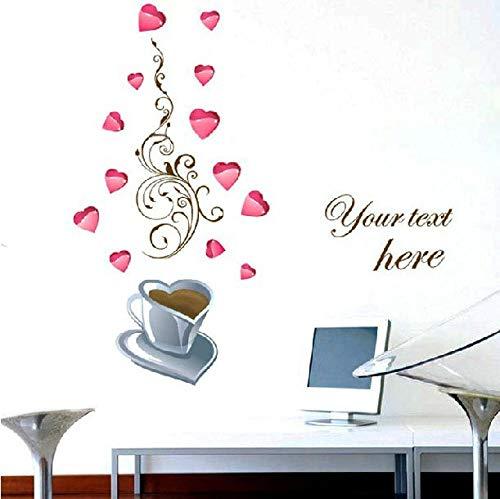 Pegatinas de pared y imágenes de pared, pegatinas extraíbles, para armarios de cristal, azulejos, espejos, creativas en casa