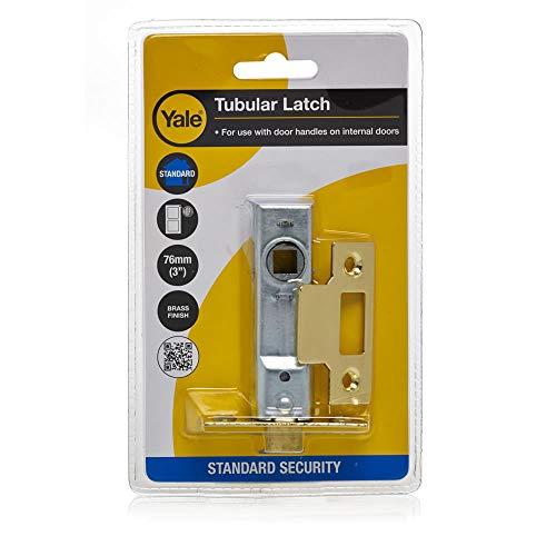 Pestillo para puertas tama/ño: 64mm, pack de 3 Yale Locks YAL3PM888PB2