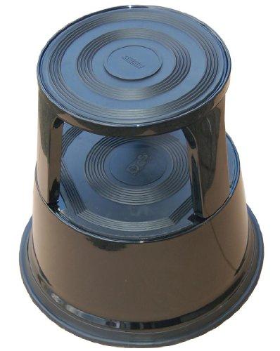 Desq 60065.09 Marchepied Mobile en métal Disponible, rouge/gris/noir/bleu