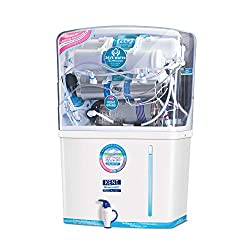 KENT New Grand 8-Litres Wall-Mountable RO + UV+ UF + TDS (White) 20 litre/hr Water Purifier,KENT,11076