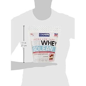 USN Diet Whey Isolean, Strawberry Cheesecake - 1 kg