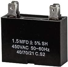 Mini Split Capacitor - 1.5 mfd 1.5 uf - 450V - 4 Terminal - 50/60HZ
